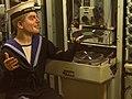 Denis Bourez - HMS Belfast radio (8935937122).jpg