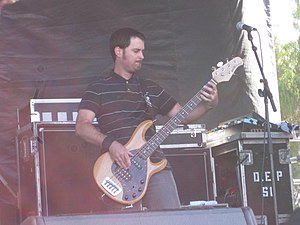 Derek Gibbs - Gibbs performing with Reel Big Fish on the 2010 Warped Tour