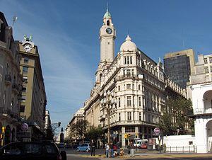 Diagonal Sur, Ciudad Buenos Aires, Argentina.