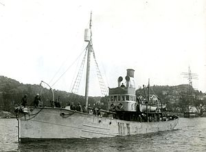 Viola (trawler) - Dias as whale catcher