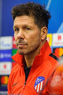 Diego Simeone Argentinian football coach and former player
