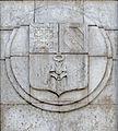 Dijon armoiries Bourgogne rempart de la miséricorde.jpg