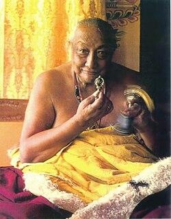 Dilgo Khyentse Tibetan Buddhist Lama