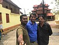 Director-Emmanuvel N K, Producer- Cyrill Pailithanam, Script Writer- Ramabhadran Thamburan ( From left to Right).jpg