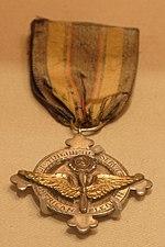 Lindbergh's Distinguished Service Medal