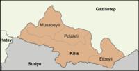 Districts of Kilis.png