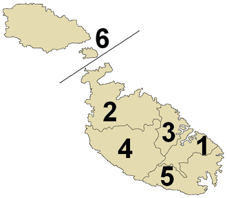 Districts of Malta - Districts of Malta