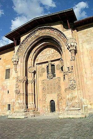Fachada de la Gran Mezquita de Divrigi (Ulu Camii)