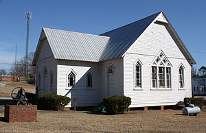 Dixons Mills, Alabama - Dixons Mills Methodist Church