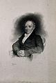 Dominik, Edler von Vivenot. Lithograph by J. Kriehuber, 1831 Wellcome V0006078.jpg