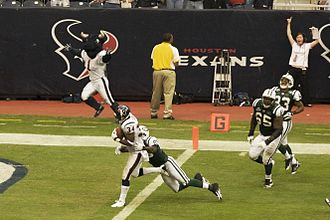 2009 Houston Texans season - Safety Dominique Barber scored Houston's lone touchdown during the fourth quarter.