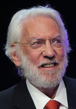 Donald Sutherland in 2013