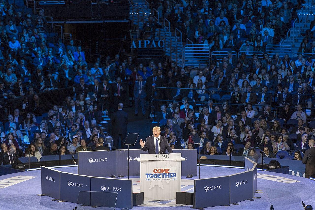 Donald Trump speaking at AIPAC.jpg