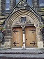 Door to Stokesley Methodist Church - geograph.org.uk - 517637.jpg