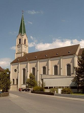 Dornbirn - Dornbirn, St.-Leopold-church