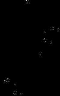 Strukturformeln von Dosulepin