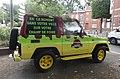 Douai - Véhicule aux couleurs de Jurassic Park, boulevard Paul-Hayez (03).JPG