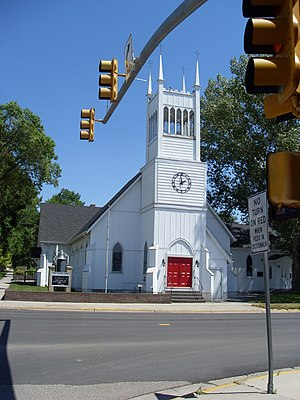 National Register of Historic Places listings in Converse County, Wyoming - Image: Douglas Church