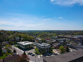 Hespeler, Ontario Dissolved town in Ontario, Canada