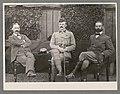 Dr. Samuel Evans, Douglas Evans and Colonel Davies, Flag of Truce Party, Johannesburg (5349058).jpg