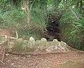 Drainage channel, Graig Llanishen Footpath, Thornhill - geograph.org.uk - 443144.jpg