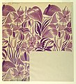 Drawing, Textile Design- Tropical Flowers, 1912–13 (CH 18805385-2).jpg
