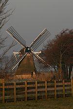 Dronrijp - molen Kingmatille vanaf de openbare weg.jpg