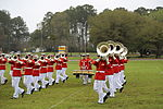 Drum and Bugle Corps and Silent Drill Platoon perform at Marine Corps Air Station Beaufort 150323-M-VR358-078.jpg