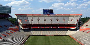 alt=Description de l'image Dsg UF Ben Hill Griffin Stadium Inside 20050507.jpg.