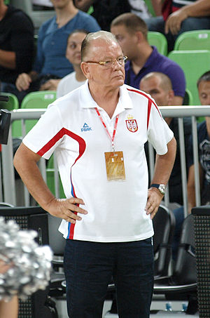 Alexander Gomelsky EuroLeague Coach of the Year - Dušan Ivković was the EuroLeague Coach of the Year in 2012.
