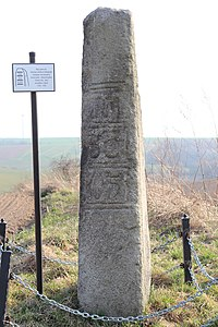 Duchy of Nysa relict border stone 2015 P01.JPG