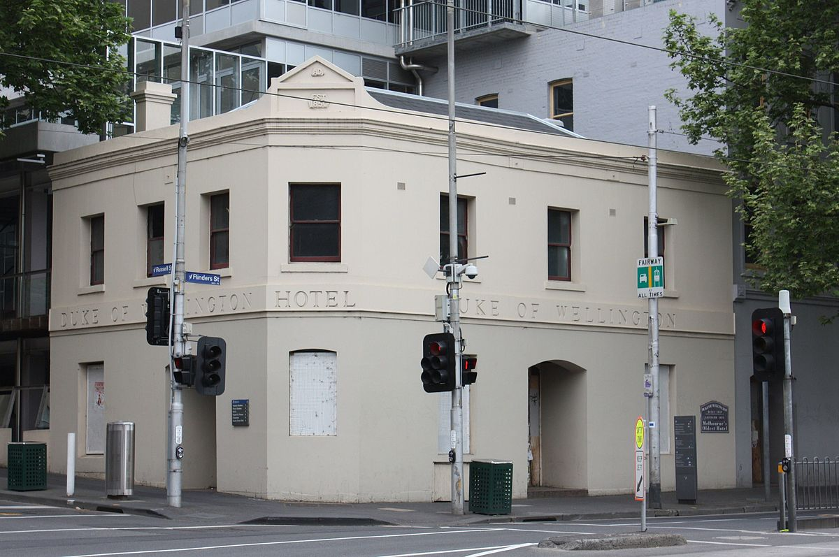 duke of wellington hotel melbourne wikipedia. Black Bedroom Furniture Sets. Home Design Ideas