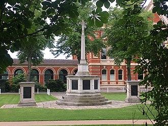 Dulwich College War Memorial - The War Memorial in June 2018