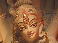 Durga Idol Naktala Udayan Sangha 2013.jpg