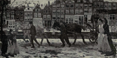 Dutch Painting in the 19th Century - Breitner - Winter in Amsterdam.png