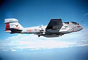 EA-6B Prowler supporting Joint Endeavor from CVN-73