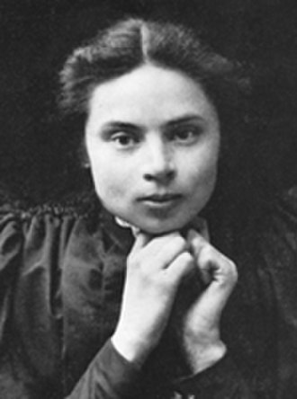 Ester Almqvist - Ester Almqvist, ca. 1890–93.