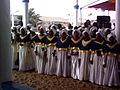 ECC Choir performing at 2012 Pilgrim at Seme.jpg