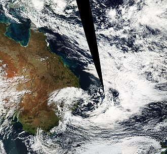 Subtropical cyclone - An Australian East Coast Low in June 2013