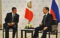ENCUENTRO ENTRE EL PRESIDENTE DEL PERÚ Y SU HOMÓMOGO RUSO EN CUMBRE APEC 2011 (6338426481).jpg