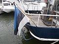 EST 626 LuLu Flag Old City Marina Tallinn 29 June 2018.jpg