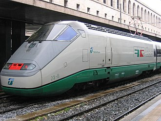 FS Class ETR 500 - ETR.500 mono-current powercar at Roma Termini.