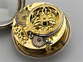 photograph of a Tompion pocket watch
