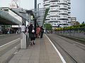 East Croydon tramstop look east.JPG