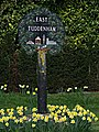 East Tuddenham Village sign - geograph.org.uk - 436442.jpg