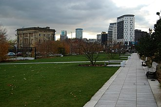 Eastside City Park - Image: Eastside City Park by Andy Mabbett 02