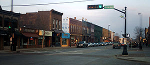 Eau Claire Wisconsin-Water Street Looking East 2006-2.jpg