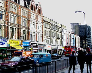 street in London, England