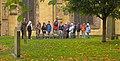 Edinburgh, Tourists in Greyfriars graveyard - geograph.org.uk - 1002602.jpg