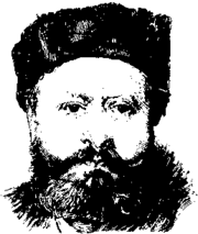 Sketch of Edmond François Valentin About